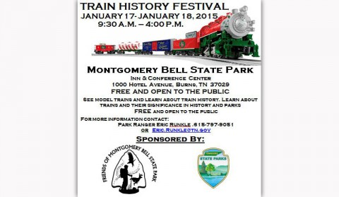 2015 Montgomery Bell State Park annual Train and Train History Festival