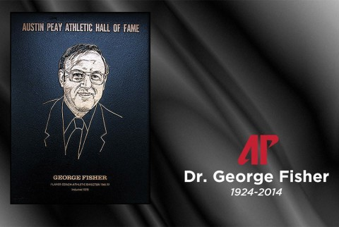 Dr. George Fisher, 1924-2014. (APSU Sports Information)