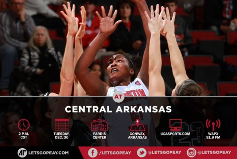 Austin Peay Women's Basketball plays Central Arkansas Sugar Bears Tuesday afternoon. (APSU Sports Information)