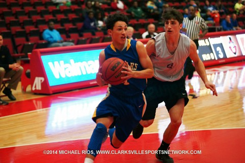 Clarksville Academy Boy's Basketball lose to Stewart County 65-51.