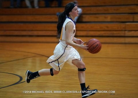 Clarksville High Girl's Basketball beats Cheatham County 59-52 in Rebel Christmas Tournament Saturday night.