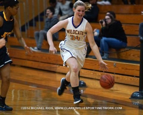 Clarksville High Girl's Basketball beats Stewart County 56-20.