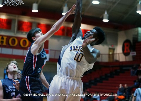 Northeast Boy's Basketball loses to Creek Wood at Rossview High School Christmas Classic.