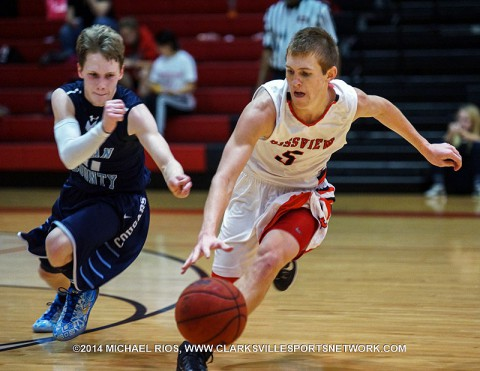 Rossview Boy's Basketball beats Logan County 57-56 Tuesday night.