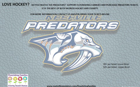 2015 Nashville Predators and Flourishing Families