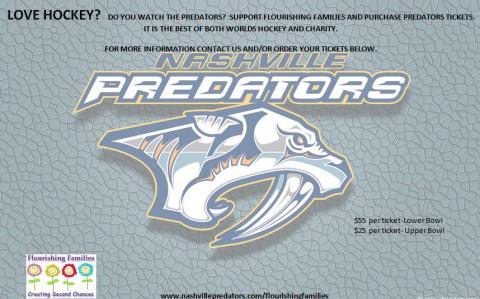 2015 Nashville Predators and Flourishing Families