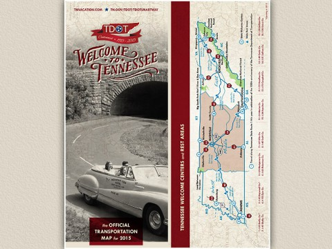 2015 Tennessee Transportation Map now available.