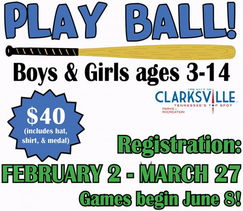 2015 Clarksville Park and Recreation Youth Leagues