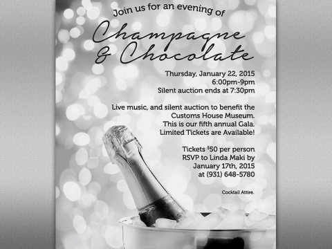 6th Annual Champagne and Chocolate Fundraiser