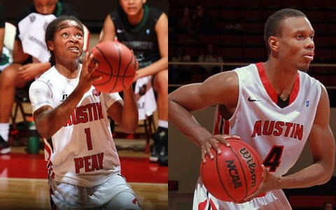 APSU Lady Govs and Governors Basketball teams. (APSU Sports Information)