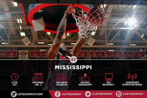 Austin Peay Men's Basketball travel to Ole Miss, Saturday. (APSU Sports Information)