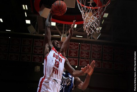 DeeDee Smith keyed Austin Peay's win against Eastern Illinois with defense. (APSU Sports Information)