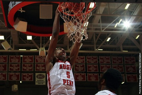 Austin Peay Men's Basketball loses to SEMO Saturday night. (APSU Sports Information)