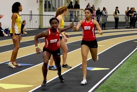 Austin Peay Women's Track and Field showed improvement at East Tennessee State Invitational. (APSU Sports Information)