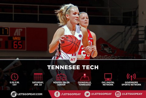 Austin Peay Women's Basketball travels to Tennessee Tech Golden Eagles, Saturday. (APSU Sports Network)