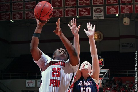 Austin Peay Women's Basketball gets home win over Belmont Thursday night. (APSU Sports Information)