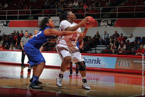 Austin Peay Women's Basketball loses to Tennessee State at the Dunn Center Saturday. (APSU Sports Information)