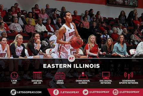 Austin Peay Women's Basketball take on Eastern Illinois, Saturday. (APSU Sports Information)