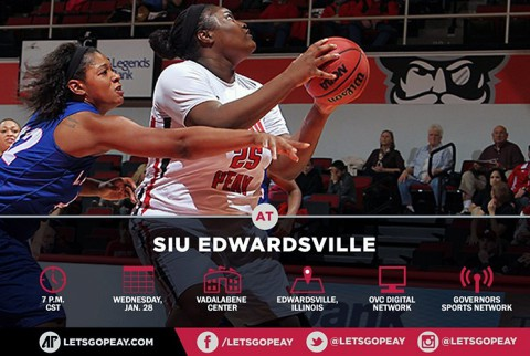 Austin Peay Women's Basketball takes on SIUE at Edwardsville Illinois Wednesday. (APSU Sports Information)