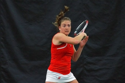 Austin Peay Women's Tennis loses to MTSU Friday. (APSU Sports Information)