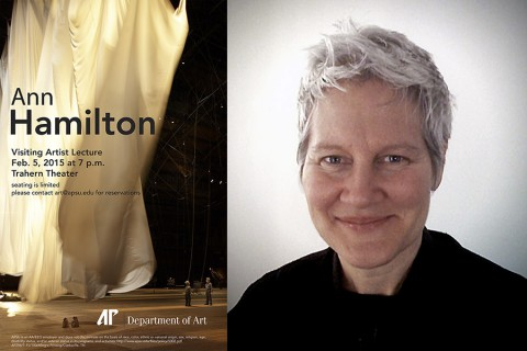 APSU Department of Art to hold lecture by Ann Hamilton February 5th.