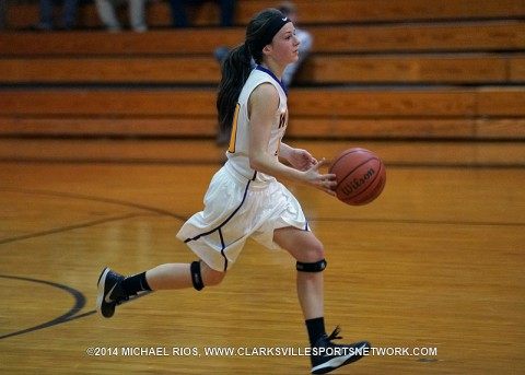 Clarksville High Girl's Basketball gets 66-43 win over Kenwood Friday night.