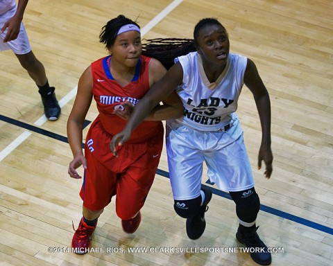 Kenwood Middle School Girl's Basketball beat New Providence Thursday night.