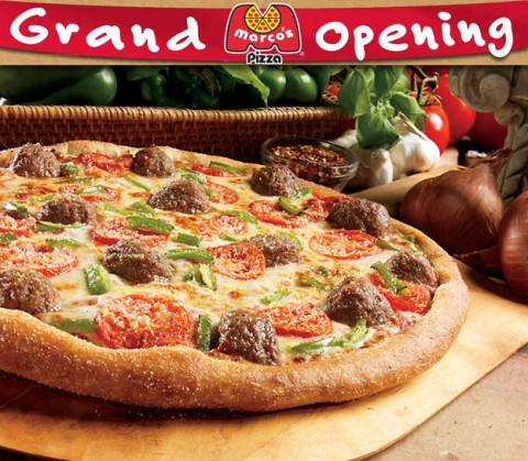Marco's Pizza to open Monday, February 2nd at 1761 Tiny Town Road in Clarksville.