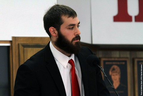 Mark Kulbis, graduate assistant in the Austin Peay strength and conditioning program. (APSU Sports Information)
