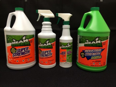 Mean Green Cleaner and Degreaser Products recalled by CR Brands.