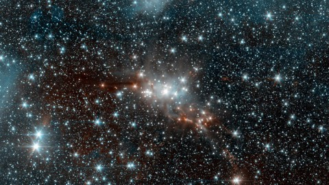 "Astronomers have turned to a method called ""machine learning"" to help them understand the properties of large numbers of stars. (NASA/JPL-Caltech)"