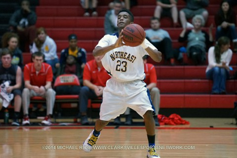 Northeast Boy's Basketball gets win over Kenwood Tuesday night, 64-49.