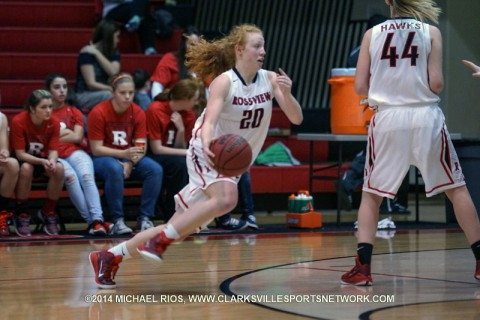 Rossview Girl's Basketball takes care of Northwest 49-24.