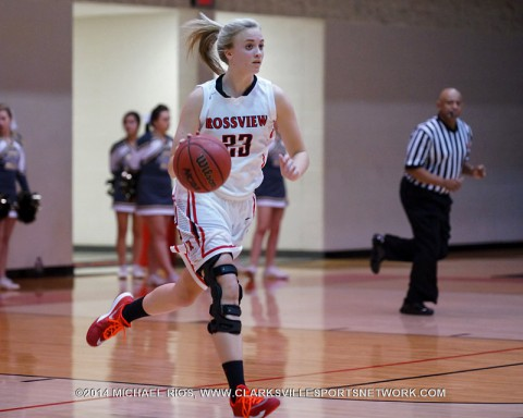 Rossview Girl's Basketball beats Clarksville High 44-29 Tuesday night.