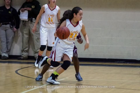 Rossview Middle School Girl's Basketball get win over Kenwood Tuesday night.
