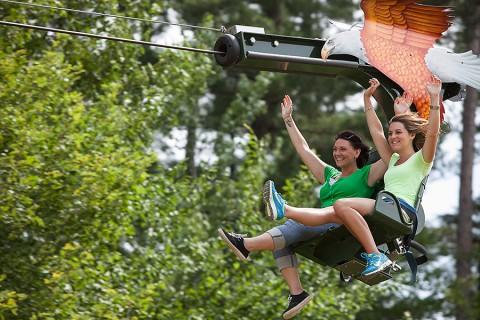 Nashville Zoo's SkyGlider.