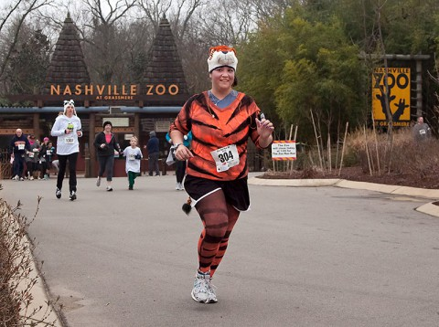 Zoo Run Run at  Zoo Entrance. (Amiee Stubbs)