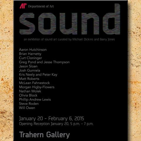 APSU Department of Art exhibition Sound