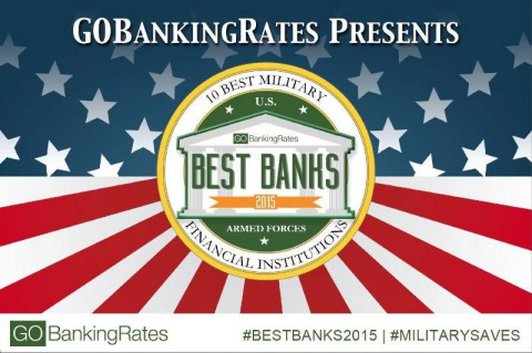 GO BankingRates Releases Study of the 10 Best Military Banks and Credit Unions (GOBankingRates)