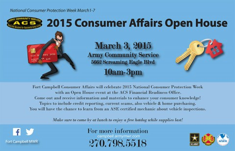 2015 Fort Campbell ACS Consumer Affairs Open House