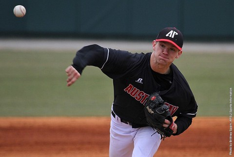 Austin Peay Men's Baseball get 3-1 victory over South Dakota State. (APSU Sports Information)