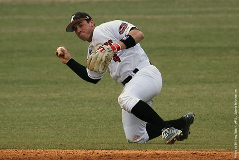 Austin Peay Governors Baseball game versus Indiana State Wednesday, postponed. (APSU Sports Information)