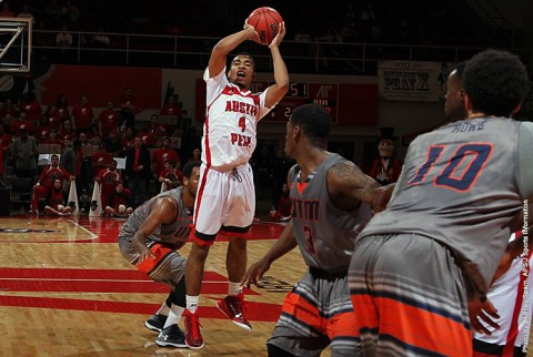 Austin Peay Governors Basketball have cold shooting night in 76-64 loss to UT Martin Thursday night. (APSU Sports Information)