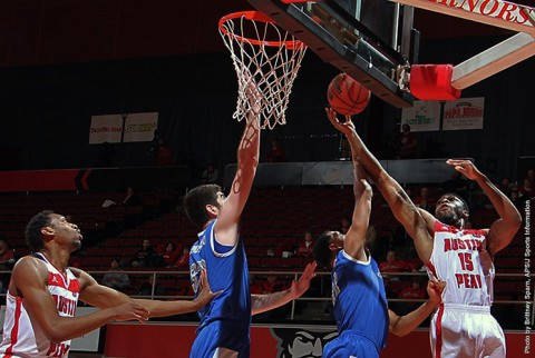 Austin Peay senior forward Chris Freeman scored 20 points and nabbed nine rebounds against Eastern Illinois. (APSU Sports Information)