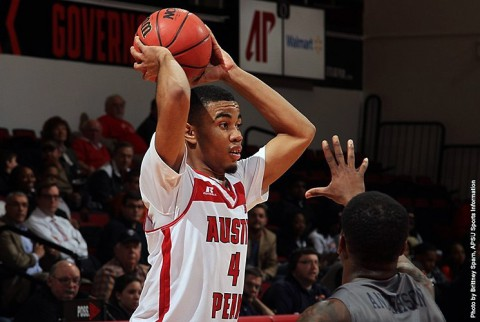 Austin Peay's Josh Robinson led the Govs with 21 points against UT Martin. (APSU Sports Information)