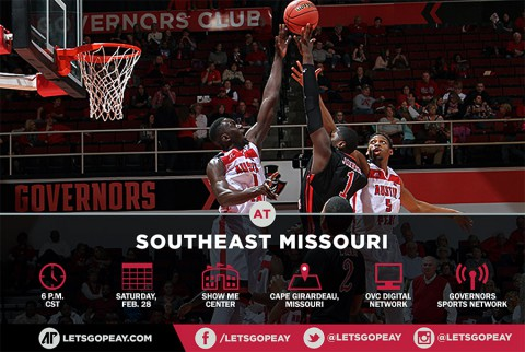 Austin Peay Men's Basketball take on Southeast Missouri Saturday. (APSU Sports Information)