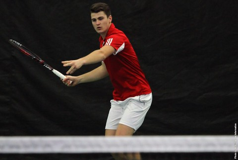 Austin Peay Men's Tennis beats Morehead State, Friday. (APSU Sports Information)