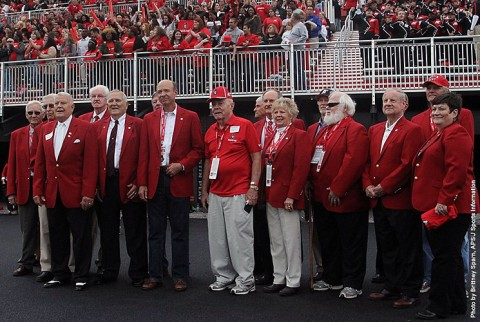 Mathews, Griffin to be inducted into Austin Peay Red Coat Society. (APSU Sports Information)