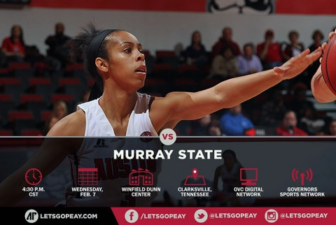 Austin Peay Lady Govs Basketball to play OVC rival Murray State, Saturday. (APSU Sports Information)