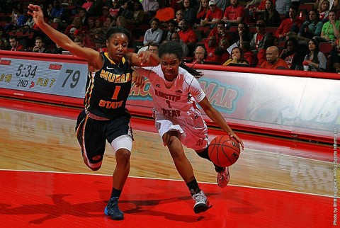 Austin Peay Women's Basketball loses 98-84 to Murray State at the Dunn Center Saturday. (APSU Sports Information)